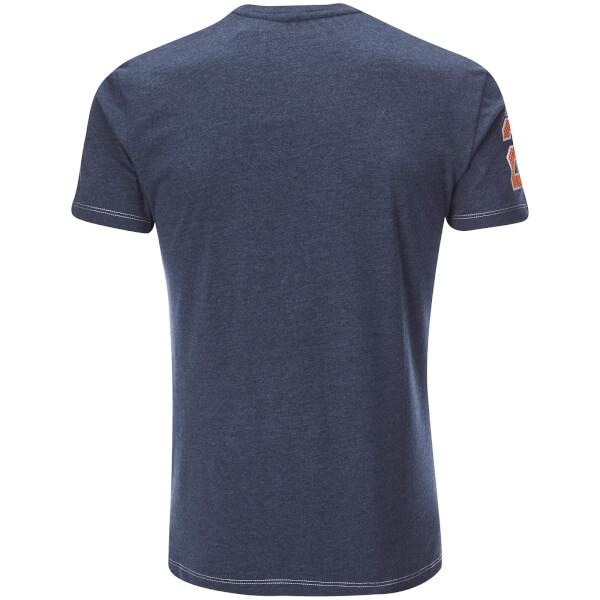 NFL Mens Chicago Bears Logo TShirt  Navy Clothing  Zavvi.com
