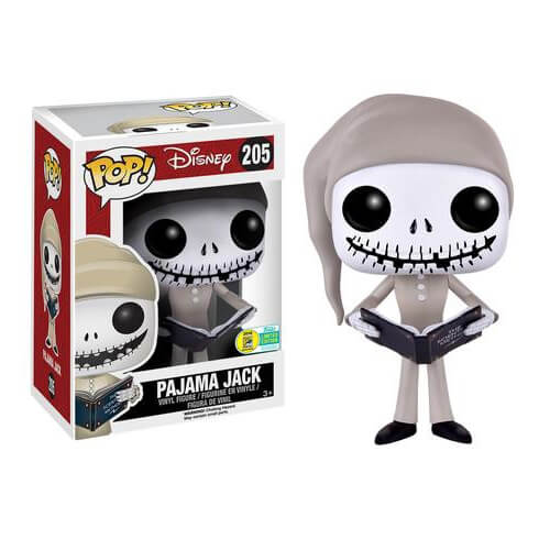 Nightmare Before Christmas Pajama Jack Skellington Pop! Vinyl Figure SDCC 2016 Exclusive