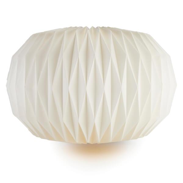 Broste Copenhagen Paper Lightshade Design No 5 Pure White