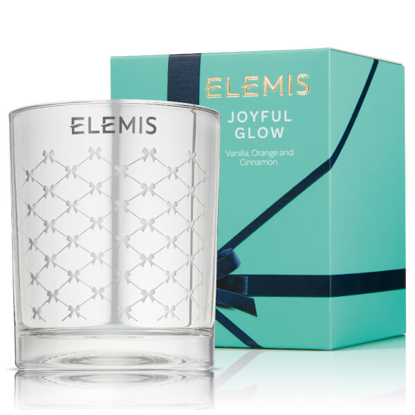 Elemis Joyful Glow Christmas Candle (Worth $44.00)