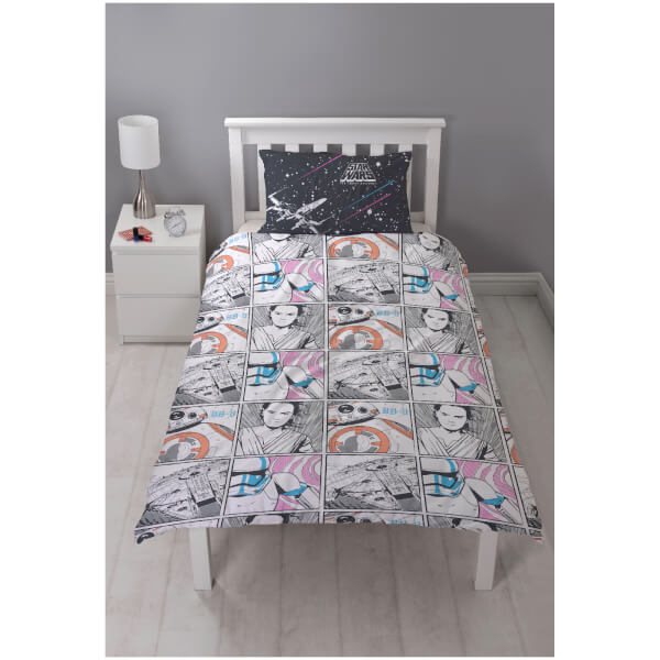 Star Wars: The Force Awakens - Episode VII Girls Montage Panel Duvet Set