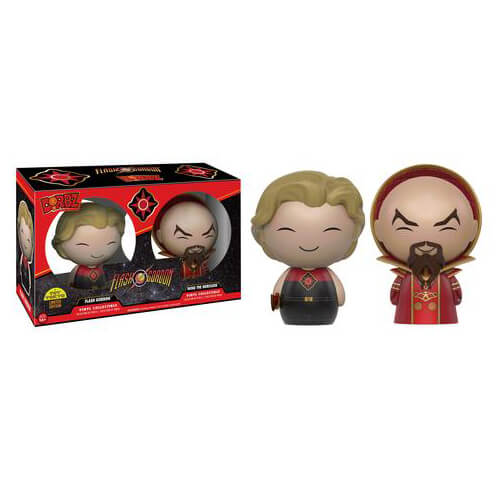 Flash Gordon Gordon & Ming the Merciless Dorbz Vinyl FiguresSDCC 2016 Exclusive