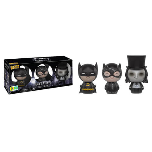 Batman Returns 3-Pack Batman, Penguin & Catwoman Dorbz Vinyl Figure SDCC 2016 Exclusive