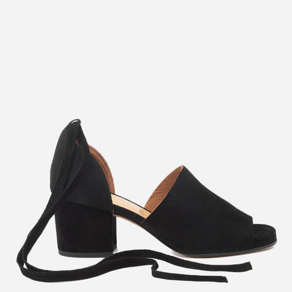 Hudson London Women's Metta Suede Heeled Sandals - Black