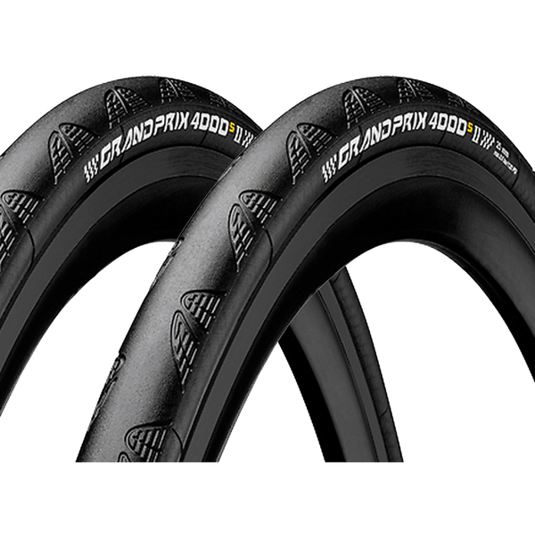continental grand prix 4000s ii clincher tyre twin pack. Black Bedroom Furniture Sets. Home Design Ideas
