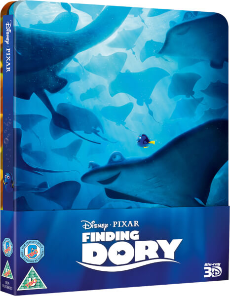 Finding Dory 3D (Inclusief 2D versie) - Zavvi UK Exclusive Limited Edition Steelbook