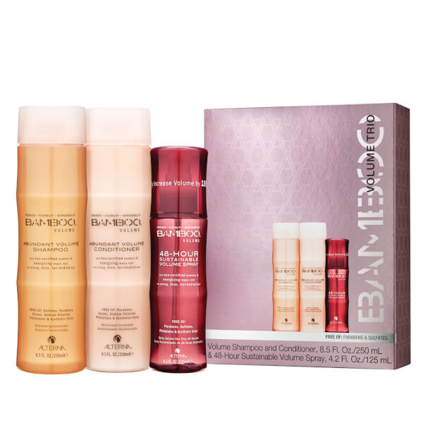 Alterna Bamboo Volume Holiday Trio (Worth $63.80)