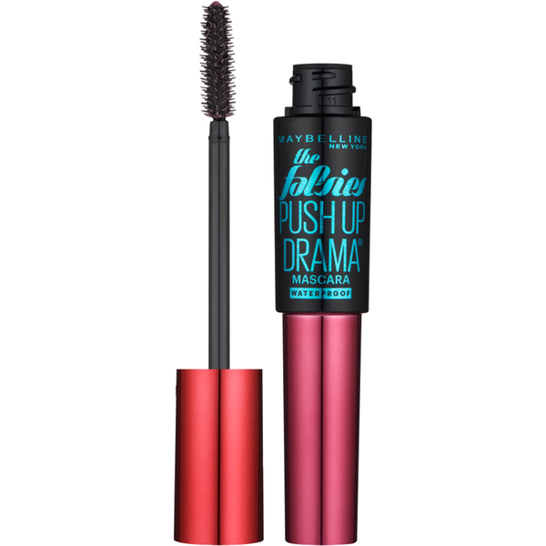 Maybelline Push Up Drama Waterproof Mascara - Very Black 9.5ml