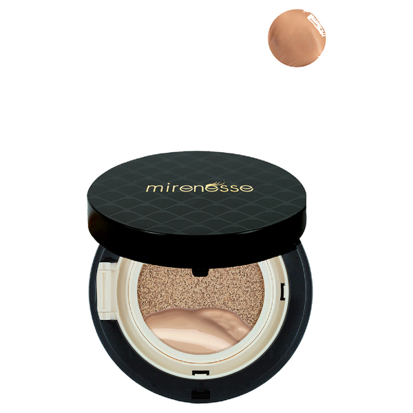 Mirenesse 10 Collagen Cushion Compact Foundation 15g - Mocha