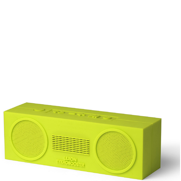 Lexon Tykho Booster Wireless Speaker Lime Free Uk