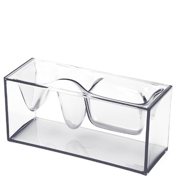 Lexon Liquid Station Desktop Organiser - Clear