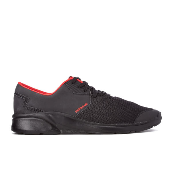 Supra Men's Noiz Low Top Trainers - Black
