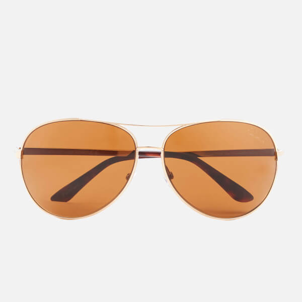 Tom Ford Women's Charles Sunglasses - Gold