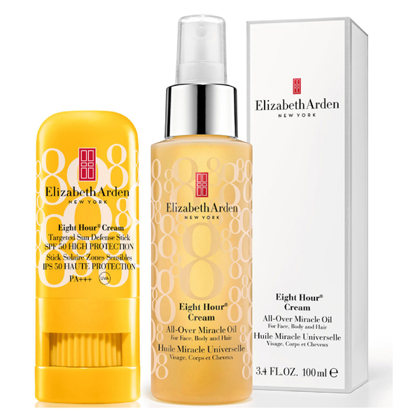 Eight Hour Oil & Sun Defence Set (Worth £55.00)