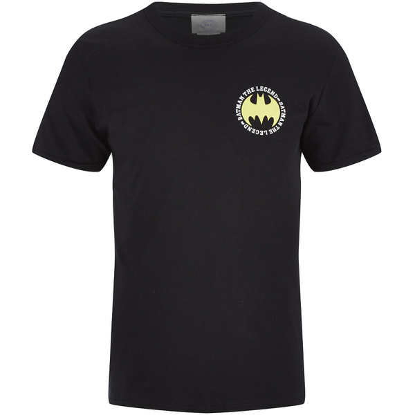 T-Shirt Homme DC Comics Logo Batman The Legend - Noir