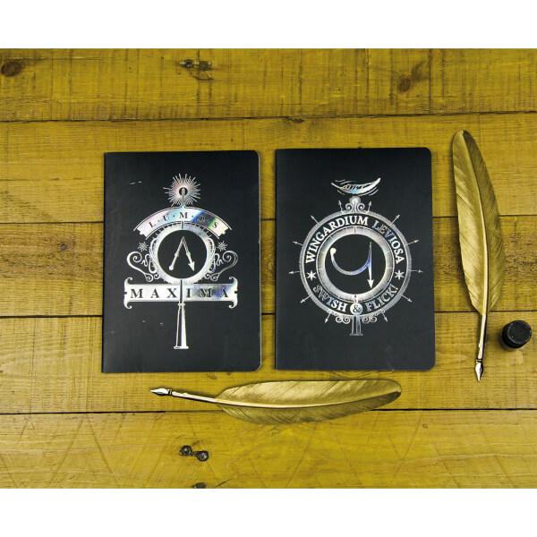 Harry Potter Notebooks (Set of 2)