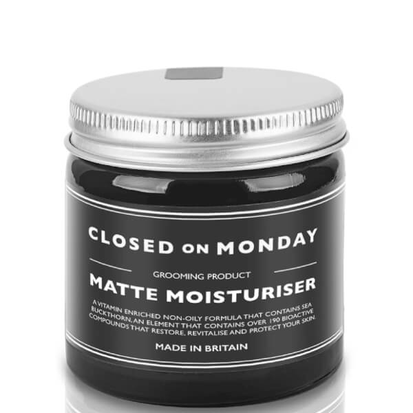 Closed On Monday Matte Moisturiser 60ml Buy Online Mankind