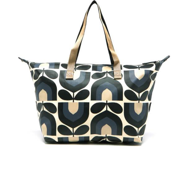 Authentic Cheap Price Orla Kiely Women's Zip Shopper Messenger Bag (Dusk) Cheap Sale Limited Edition Cheap Sale Extremely aWS7M5SiP