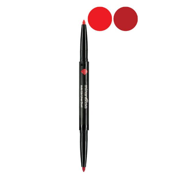 Mirenesse Auto Lip Liner Duet - 1. Racy Reds