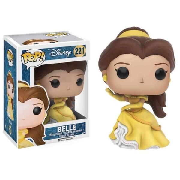 Pop Disney Belle Pop Vinyl Figure Merchandise Zavvi Com