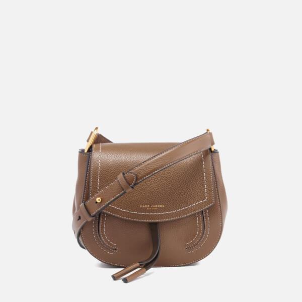 c35404f95f4b Marc Jacobs Women s Maverick Leather Mini Shoulder Cross Body Bag - Teak   Image 1