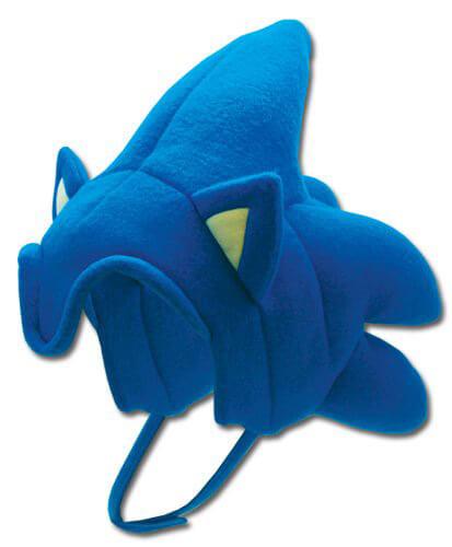 Sonic The Hedgehog Plush Hat