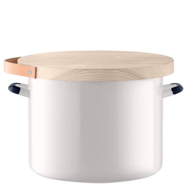 LSA Utility Bread Bin & Ash Board - Milk White