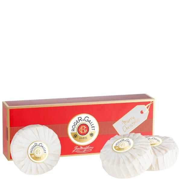Roger&Gallet Jean Marie Farina 3 Soap Coffret
