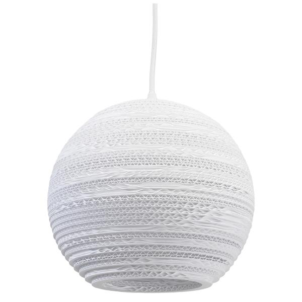 Graypants Moon Pendant - 10 Inch - White