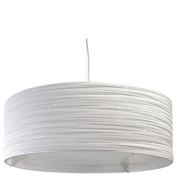 Graypants Drum Pendant - 36 Inch - White