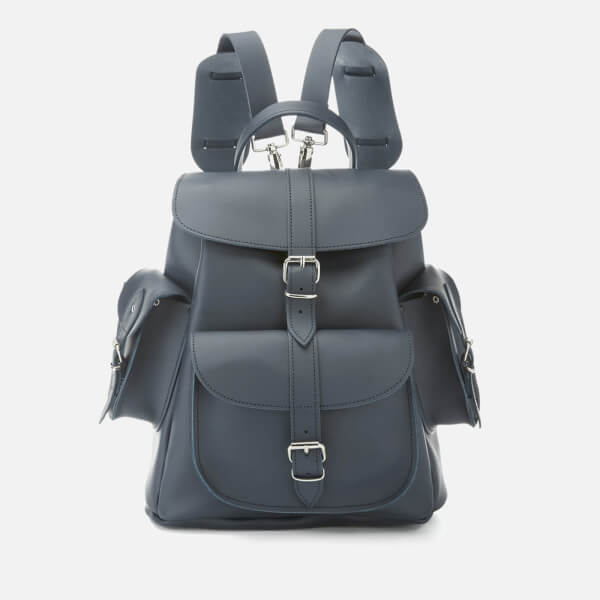Grafea Women s Midnight Medium Leather Backpack - Blue - Free UK Delivery  over £50 e362a2db3
