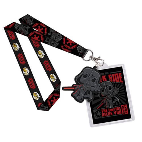 Star Wars Darth Vader Pop! Lanyard