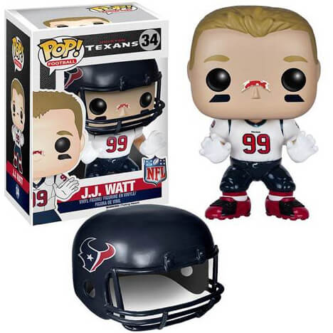 NFL J.J. Watt 2ème Vague Figurine Funko Pop!