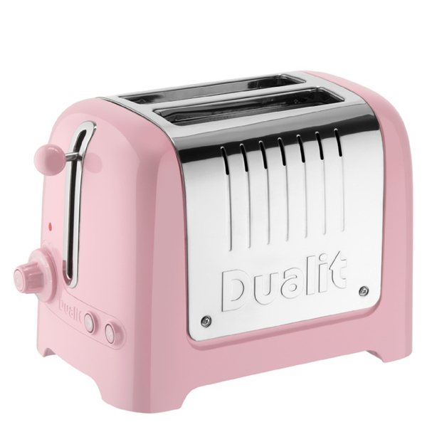 Dualit 26266 Lite 2 Slot Toaster Pink Rose Homeware