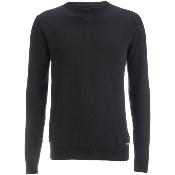 Pull Threadbare pour Homme Tommy Coton Casual -Noir