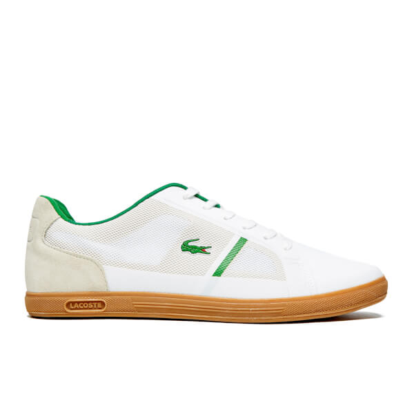 Lacoste Men's Strideur 116 2 SPM Trainers - White/Dark Green