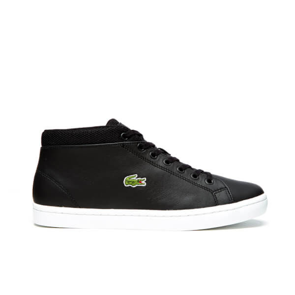 Lacoste Men's Straightset Chukka 316 3 SPM Hi-Top Trainers - Black
