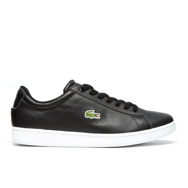 Lacoste Mens Carnaby Evo LCR SPM Trainers  Black Image 1