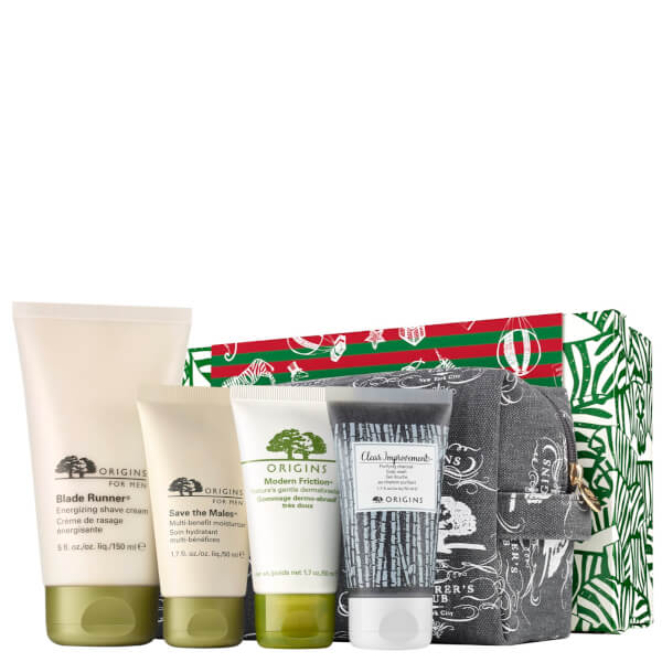 Origins Men's Skincare Treats Set (Worth £55)
