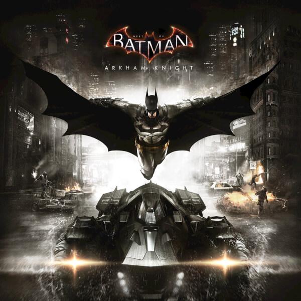 Best of Batman: Arkham Knight - The Original Motion Picture Soundtrack (1LP) Limited Edition Blue & Maroon Splatter Vinyl