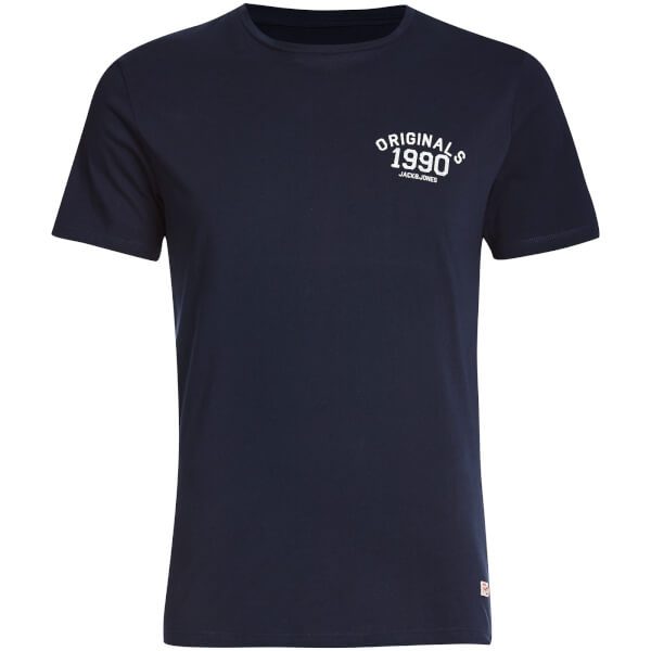 T-Shirt Homme Originals Lights Jack & Jones -Bleu Marine