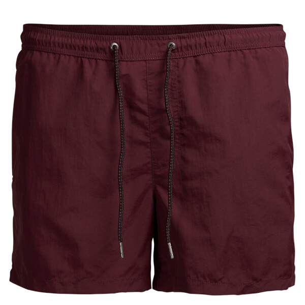 Short de Bain Sunset Jack & Jones -Bordeaux