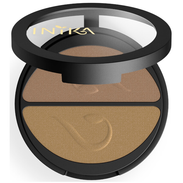 INIKA Pressed Mineral Eyeshadow Duo - Gold Oyster