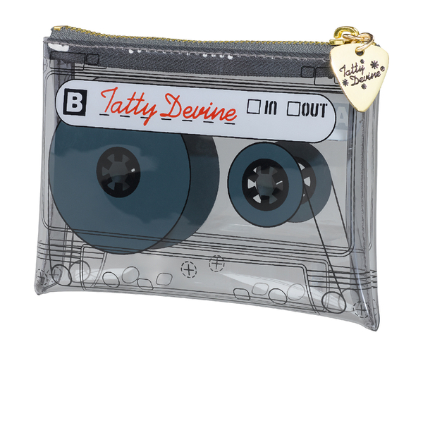 Tatty Devine Cassette Coin Purse