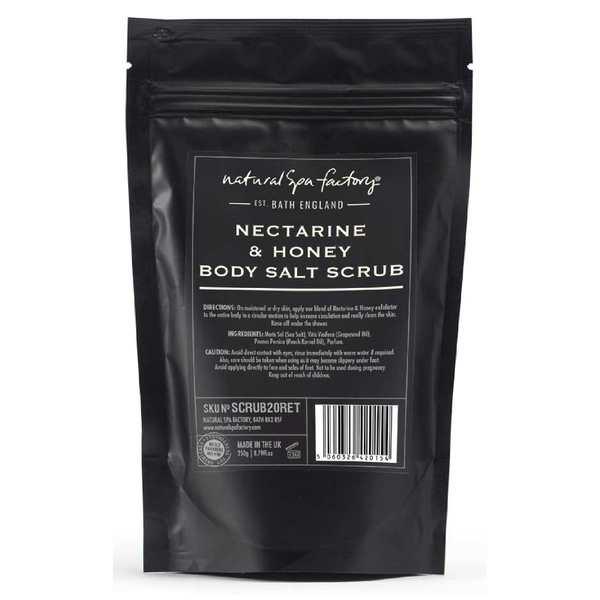 Natural Spa Factory Nectarine and Honey Blossom Body Salt Scrub