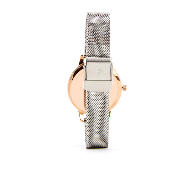 Olivia Burton Women s White Dial Mesh Watch - Rose Gold   Silver  Image 2 93048a4e0c