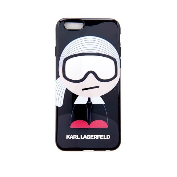 Karl Lagerfeld Women's Kl Ho Ski TPU iPhone 6 Phone Case - Black