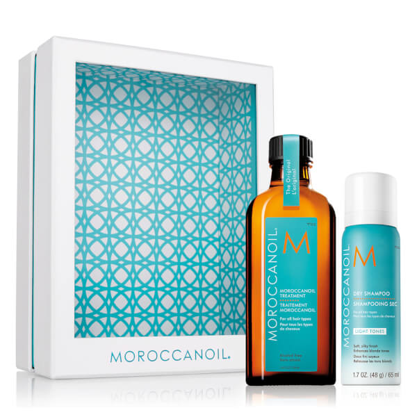 Moroccanoil Home and Away Original Set - Light (Worth £36.55)