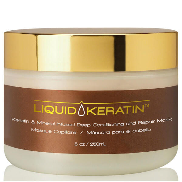 Liquid Keratin & Mineral Conditioning and Repair Mask (8oz)