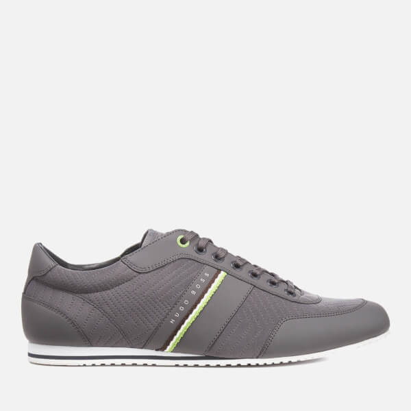 BOSS Green Men's Lighter Trainers - Dark Grey